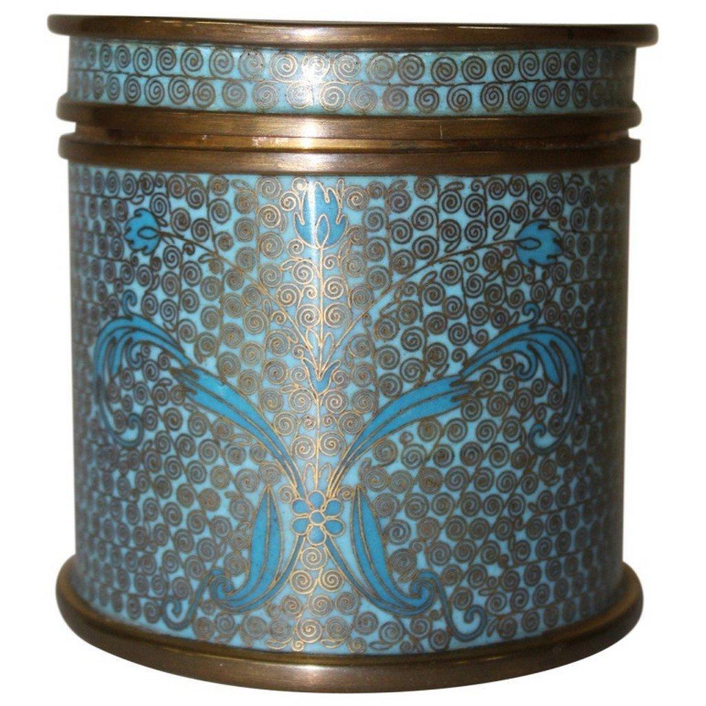 Cloisonne Chinese Jar