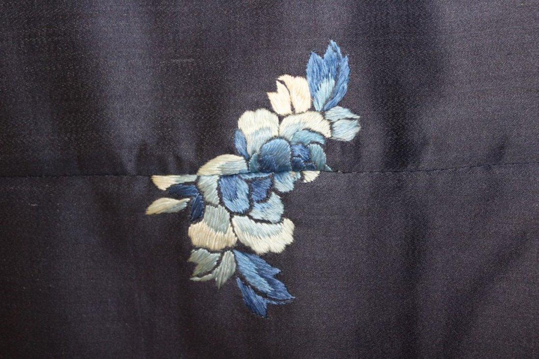 19th Century Chinese Silk Robe Fragment - 5