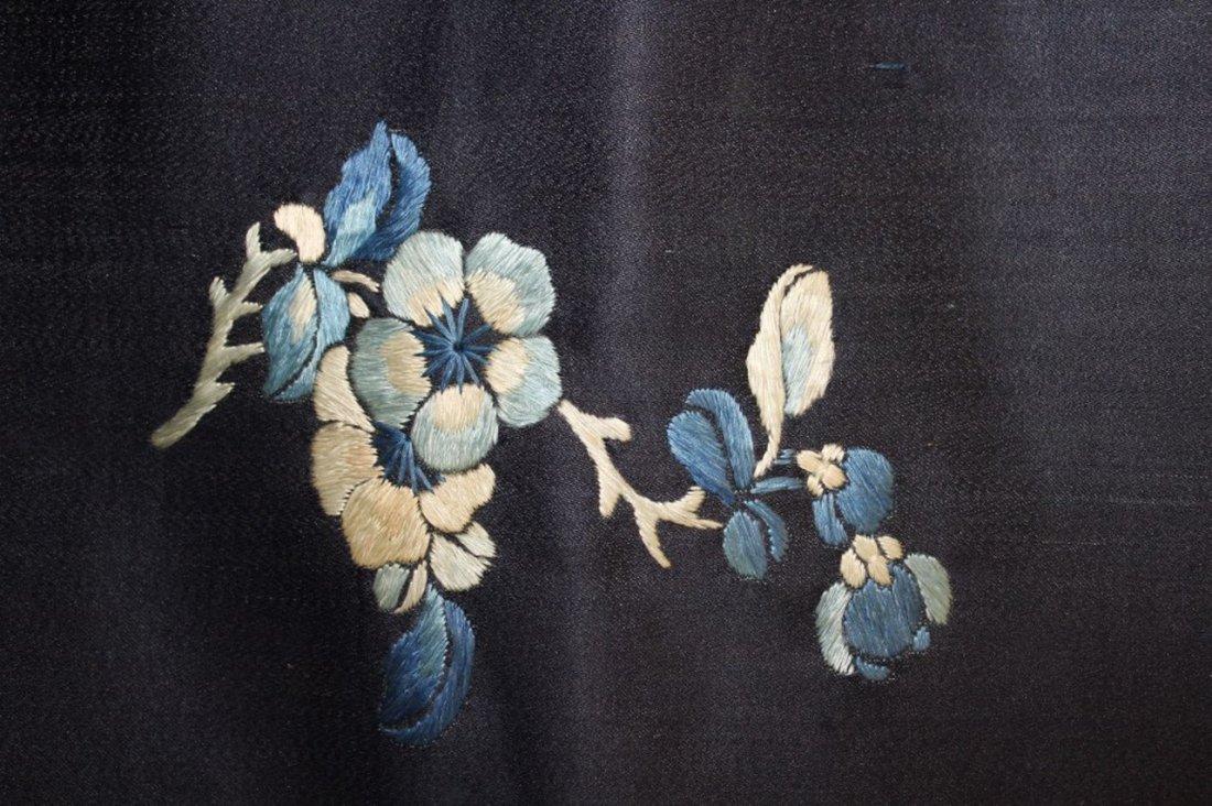 19th Century Chinese Silk Robe Fragment - 6