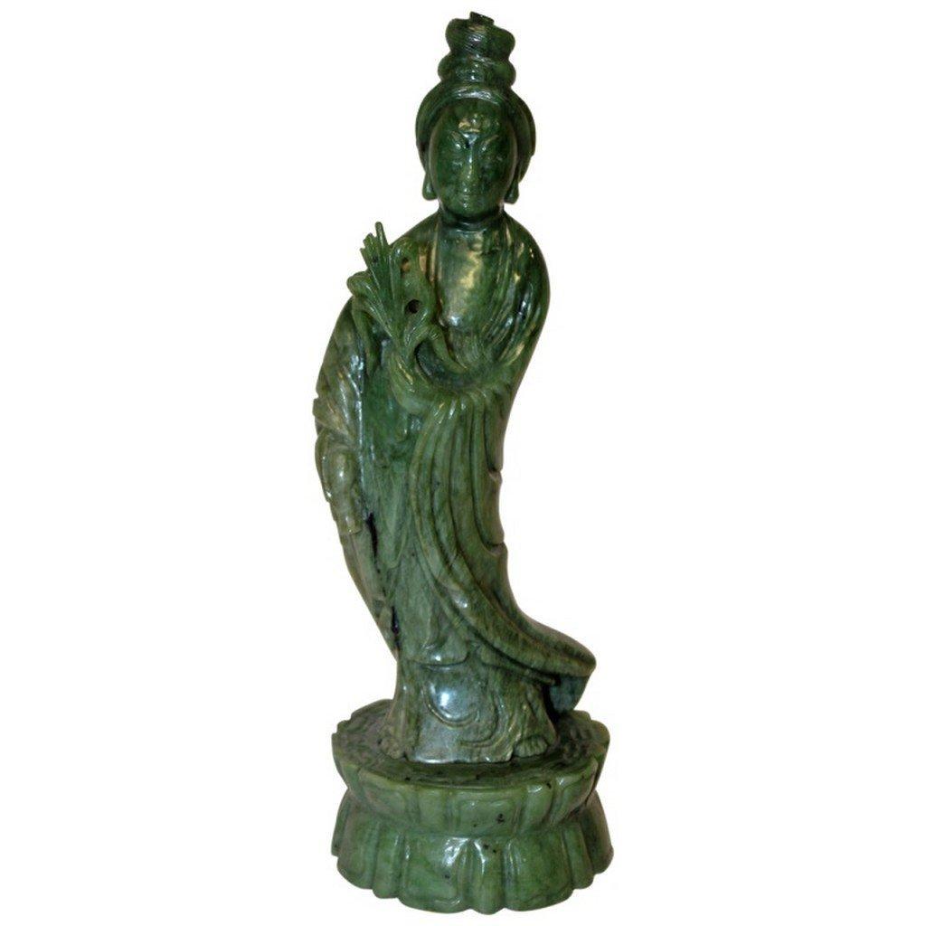 Jade Guan Yin  Guanyin Statue - 4