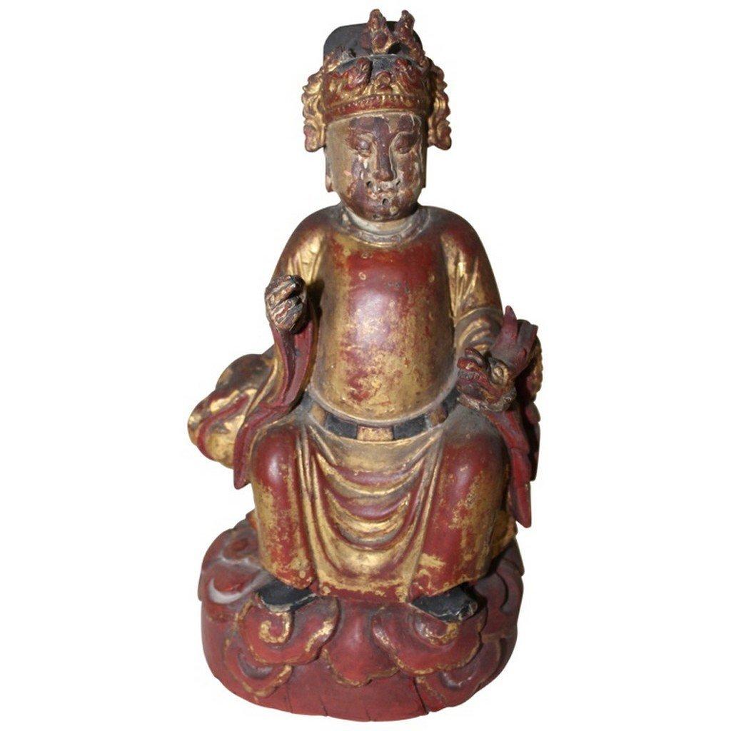 Chinese Carved Buddha