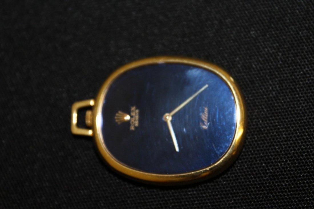 18K Rolex Cellini Oval Watch