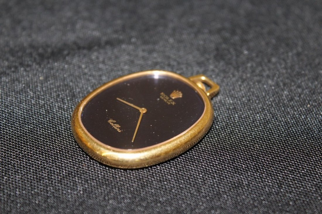 18K Rolex Cellini Oval Watch - 3