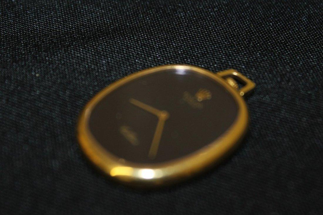 18K Rolex Cellini Oval Watch - 4