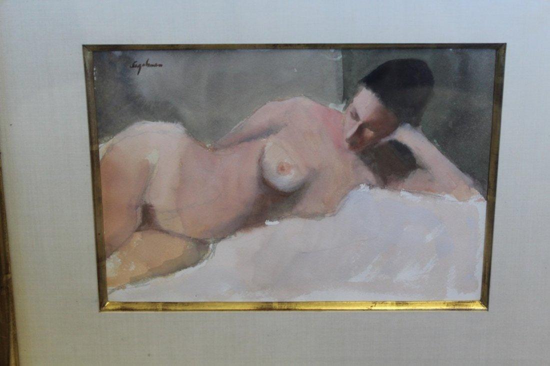 Richard Segalman Watercolor