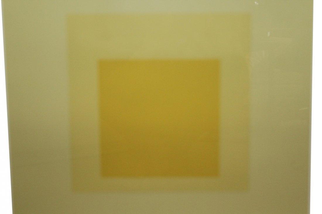Joseph Albers Reverse Serialgraph - 2
