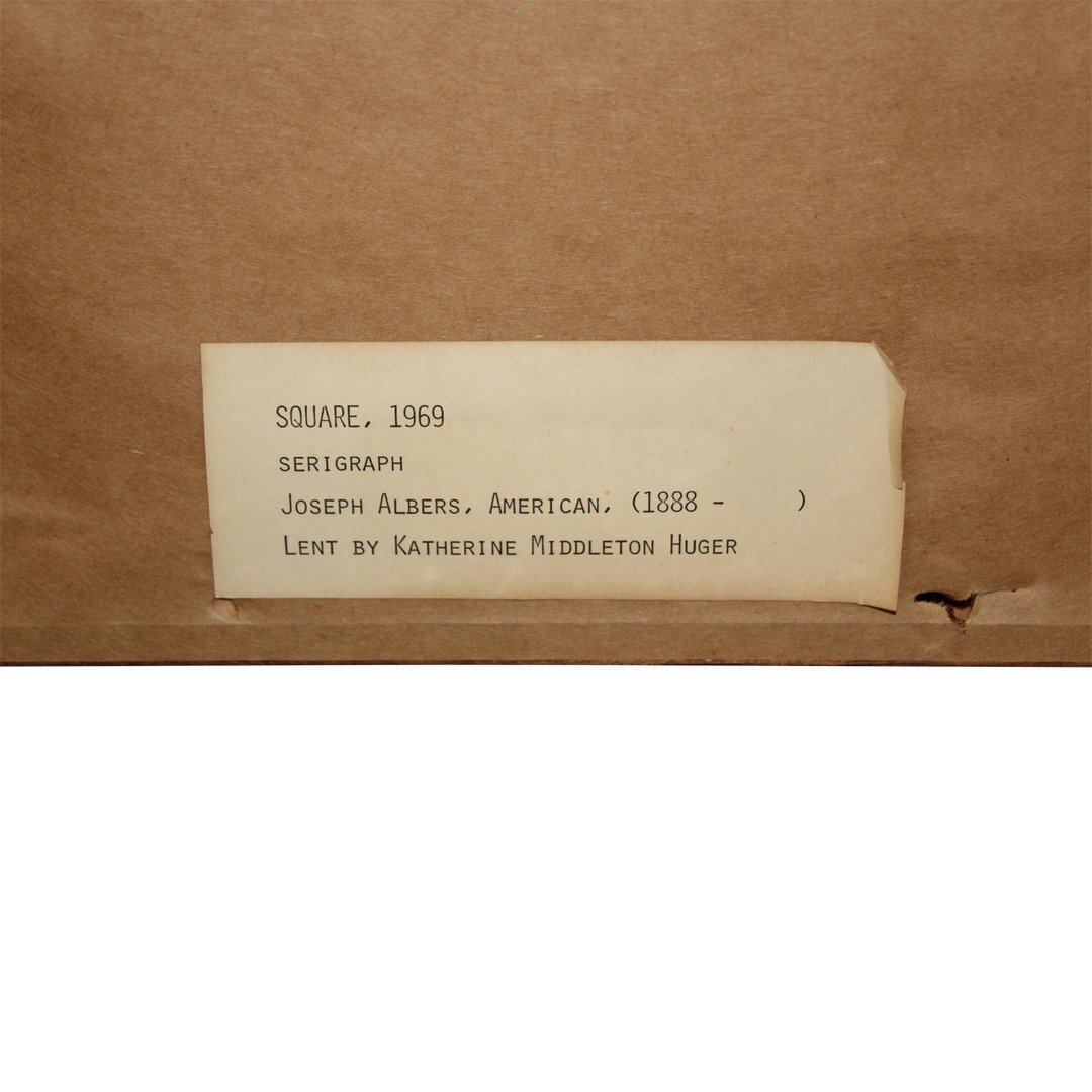 Joseph Albers Reverse Serialgraph - 3