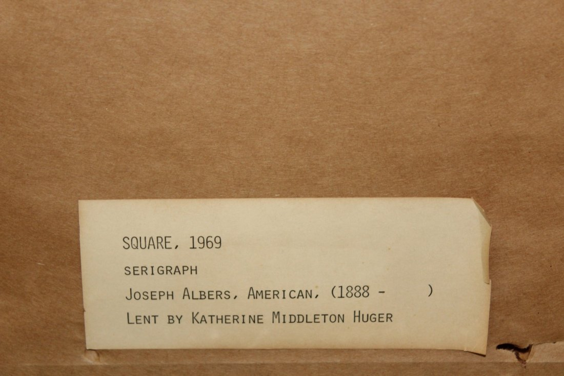 Joseph Albers Reverse Serialgraph - 4