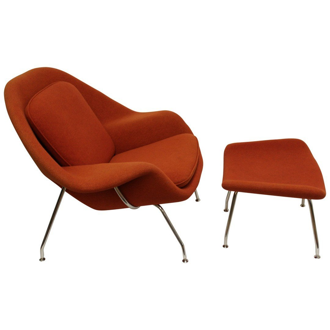 Eero Saarinen Womb Chair. - 2