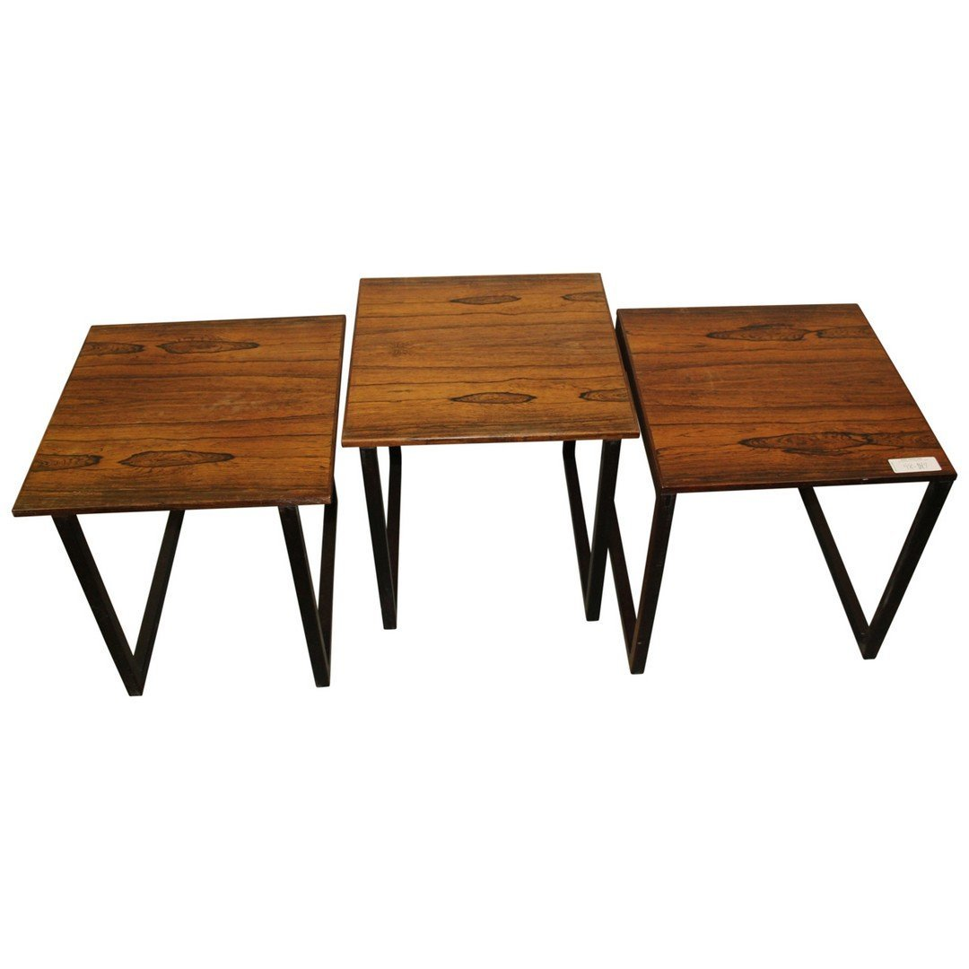 Modern Danish Teak Nest of Tables - 2