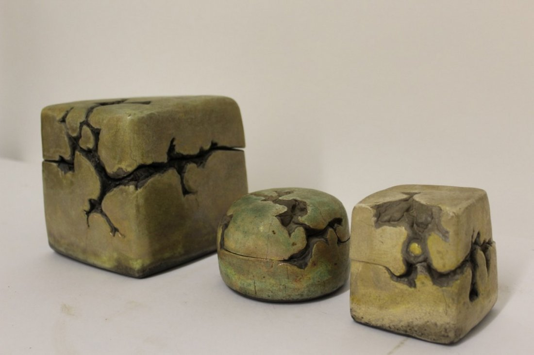 Mid Centuiry Modern Puzzle Studio Pottery. - 2