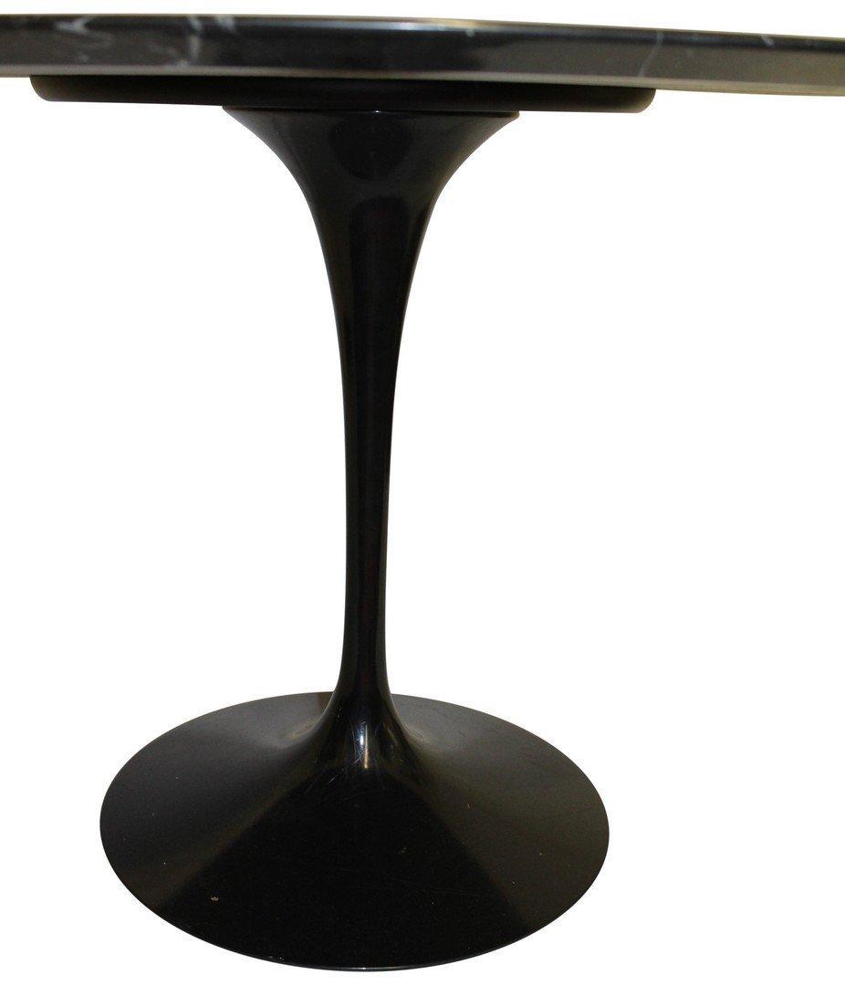 Eero Saarinen for Knoll Black Marble Tulip Table - 3
