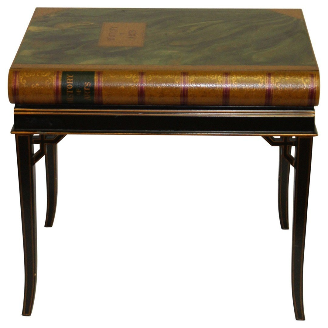 Maitland Smith 1 drawer Book Table