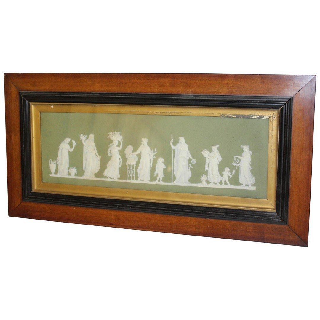 Early Wedgewood Jasperware Porcelain Plaque