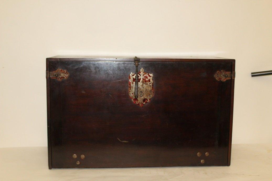 18th Century Spanish Walnut Varqueno W/ inlaid Bone - 2
