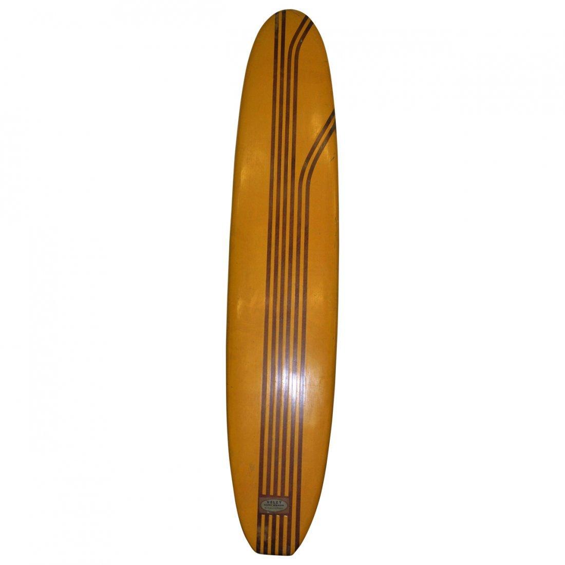 VIntage California  Velsy Surfboard 70's