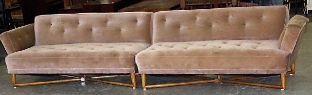 Mid Century Modern 2-Part sofa