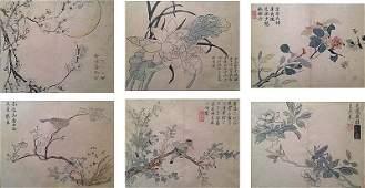 KUNISADA Utagawa (1786-1865). Oiseaux et insectes dans