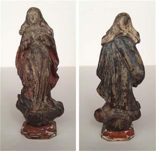 Bresil, XVIII-XIXe. Vierge de l'Assomption