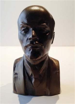 Anonyme, XXe. Buste de Lenine