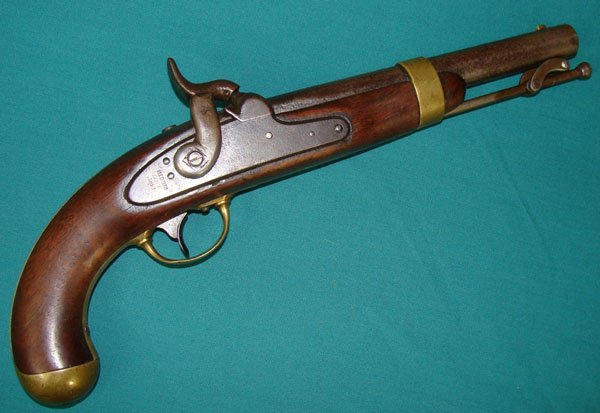 1: US Model 1842 Percussion Pistol