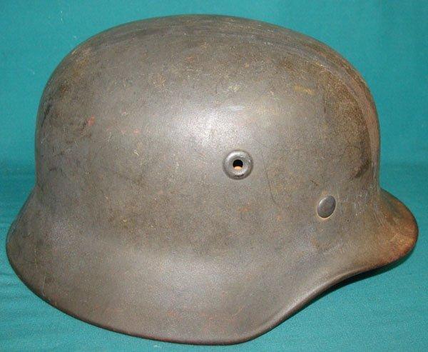 9: German Army WWII  Combat Helmet