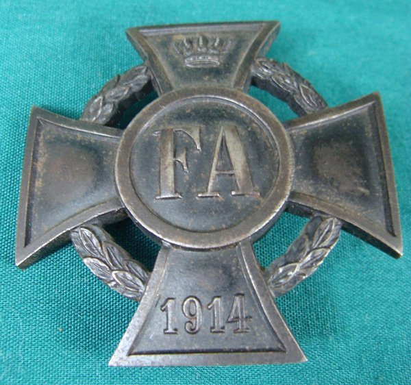 11: German Imperial War Merit Cross