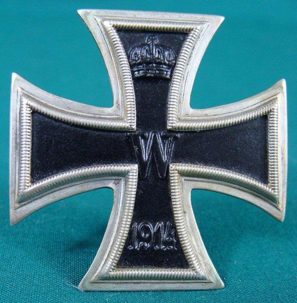 14: German 1914 Iron Cross Order Medal 1st c