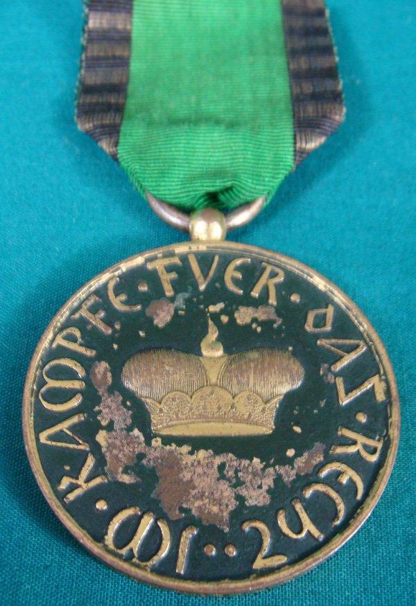 15: Rare Duchy of Saxe-Altenburg NCO Medal