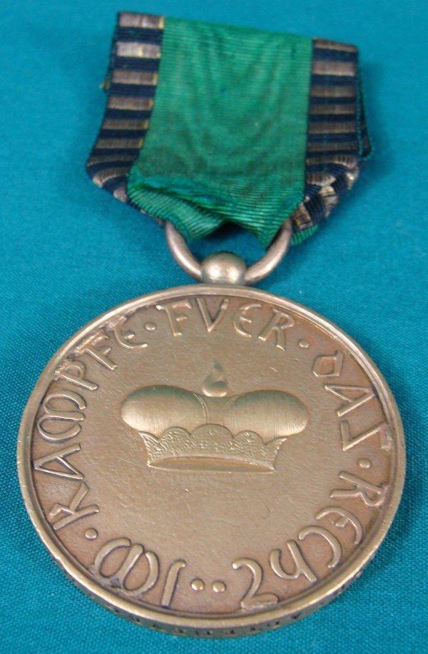 17: Duchy of Saxe-Altenburg Officer Medal