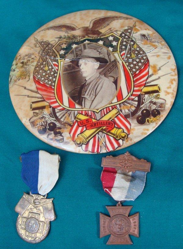 19: US Civil War Veteran Badges