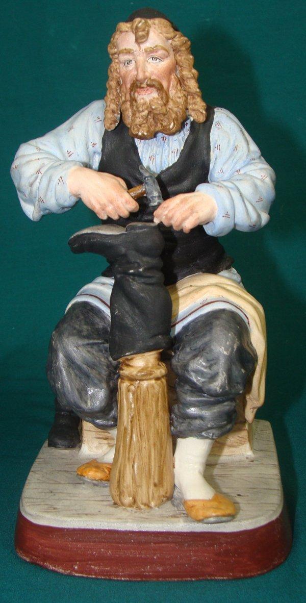 387: Gardner Russian bisque porcelain figure
