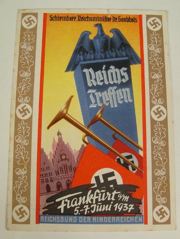 3: German Nazi WWII Propaganda Post Card