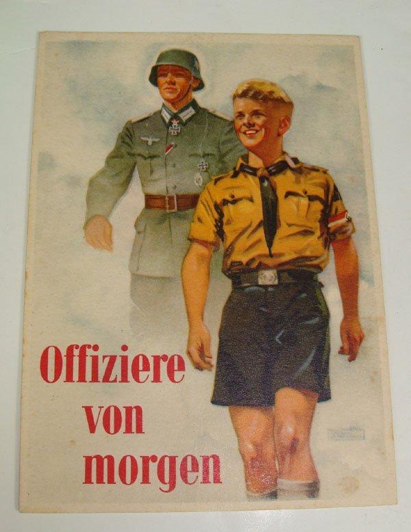 6: German Nazi WWII Propaganda Post Card