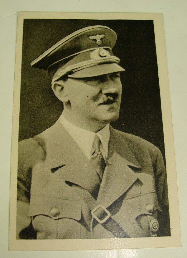 8: German Adolph Hitler Post Card