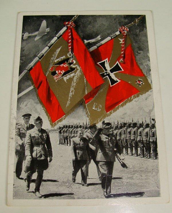 14: German Nazi WWII Propaganda Post Card