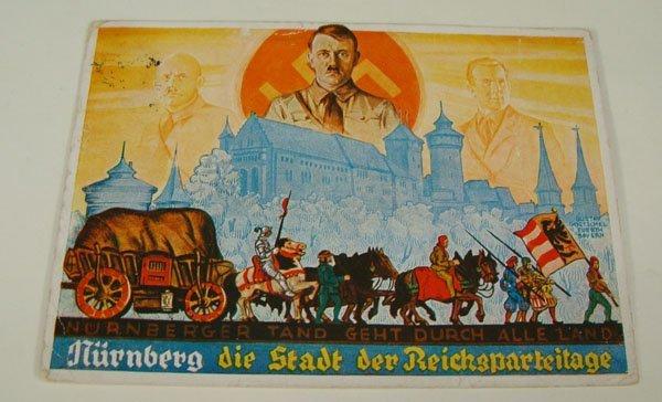17: German Nazi WWII Propaganda Post Card