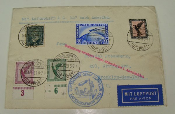 18: German WWII Stamped Letter, May 15, 1929