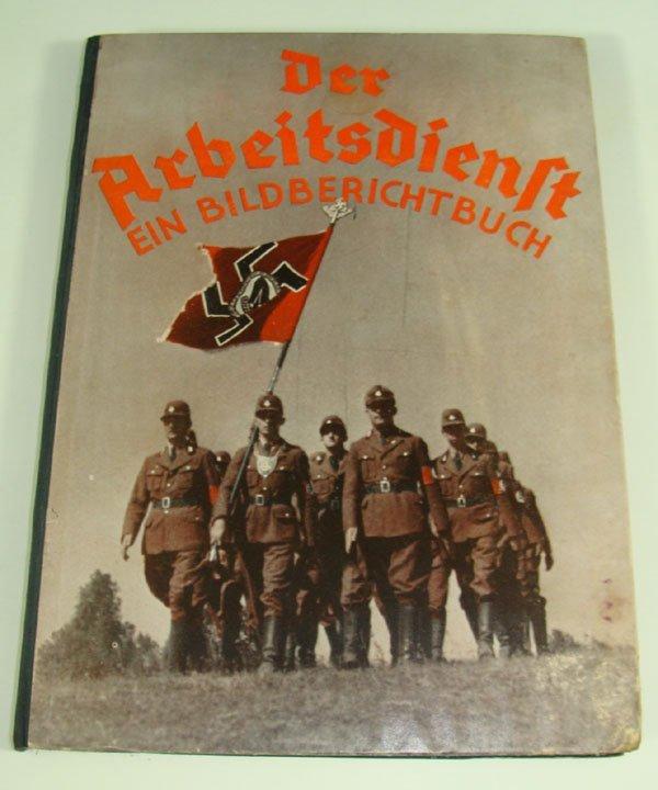 """20: German WWII """"Der Reichsarbeitsdienst"""" book"""