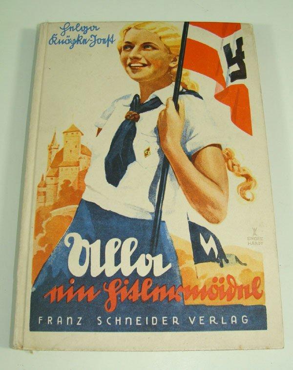 21: German WWII HJ Propaganda Book