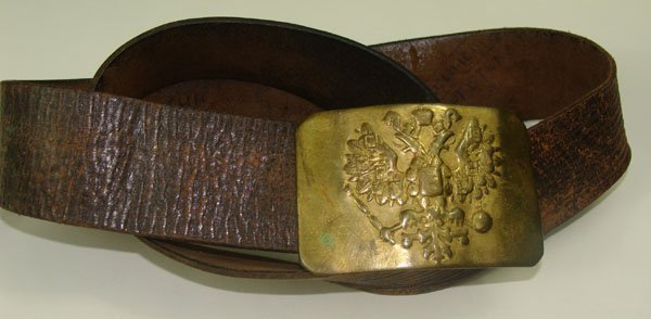 192: Russian Imperial Belt and Buckle