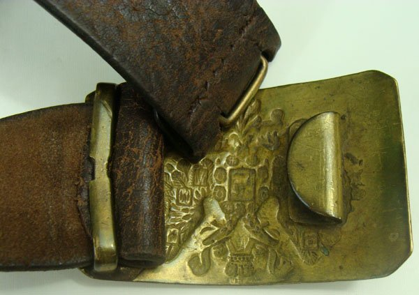192: Russian Imperial Belt and Buckle - 3
