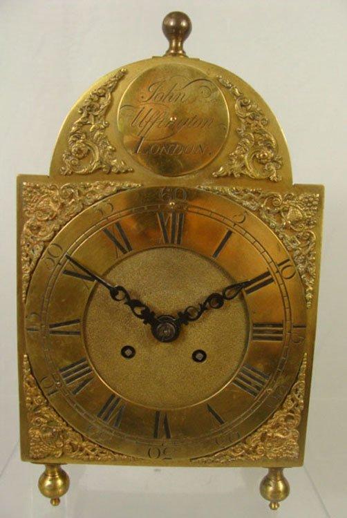 9: European 19th Century Mantel Clock