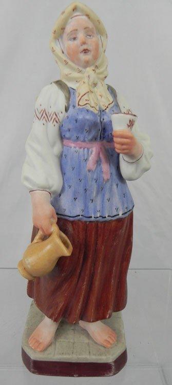 13: Russian Porcelain Bisque Figural