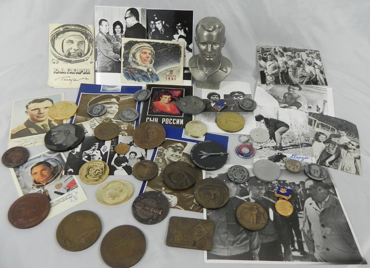 15: Rare Collection Dedicated to First Russian Space As