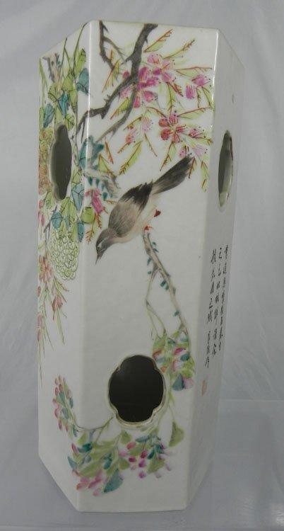 30: Antique Chinese Family Rose Porcelain Vase