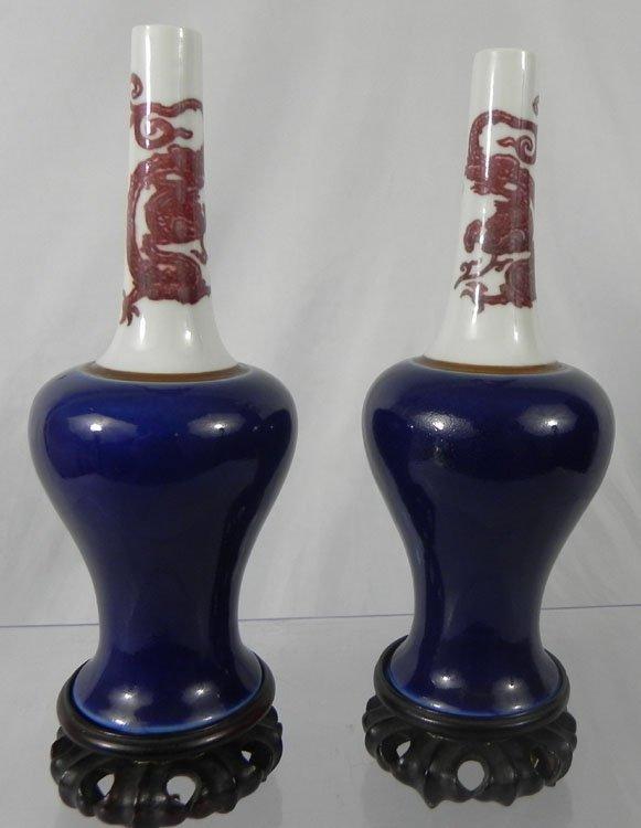 86: Chinese Unusual Doucai & Underglaze Blue-Decorated