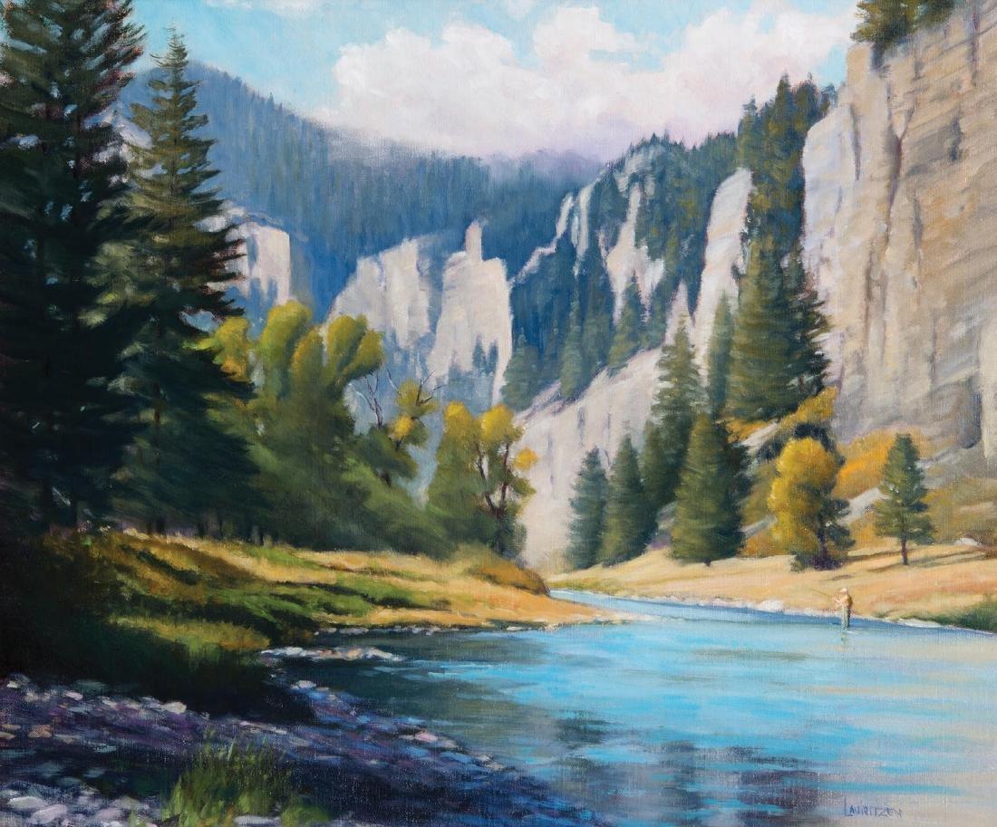 Canyon Depth—Smith River