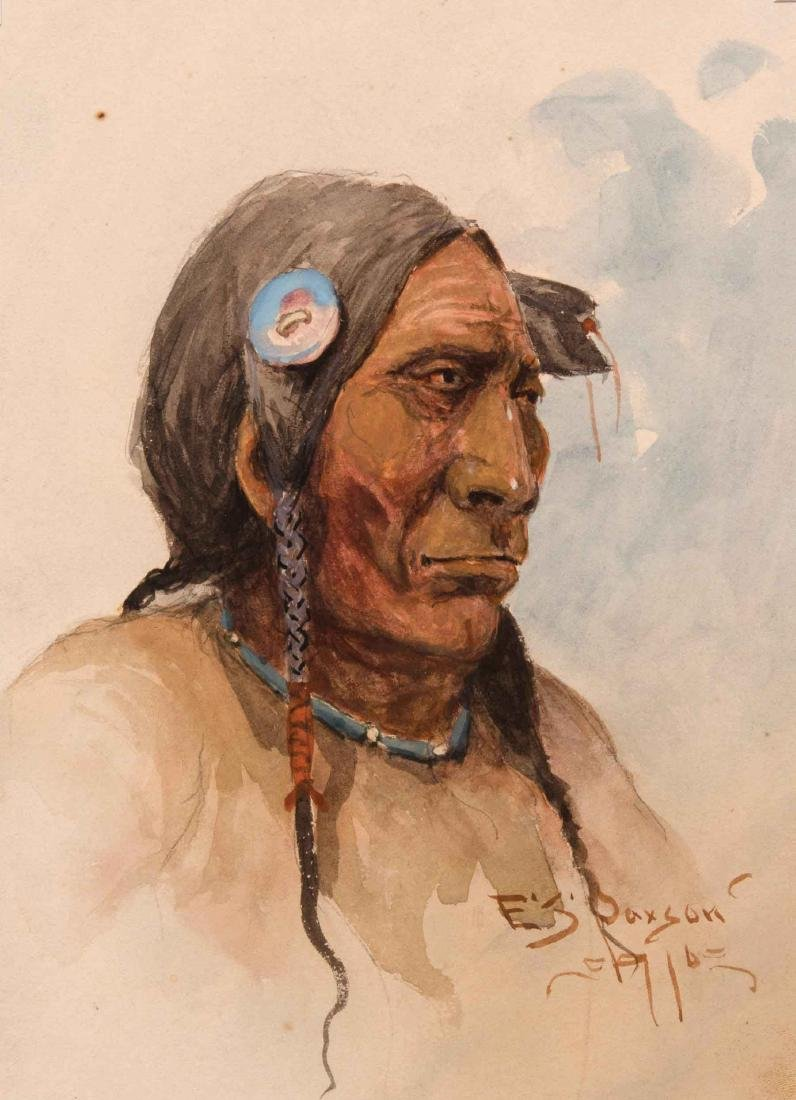 Edgar S. Paxson - Cheyenne Who Has Been There
