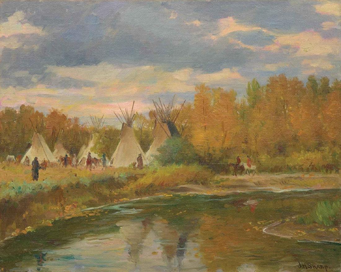 Joseph Henry Sharp - Crow Camp